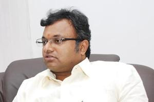 Karti Chidambaram is currently out on bail  in the INXmedia case.