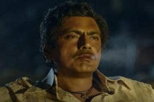 Nawazuddin Siddiqui in a still from Sacred Games.