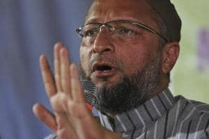President of the All India Majlis-e-Ittehadul Muslimeen and lawmaker Asaduddin Owaisi.