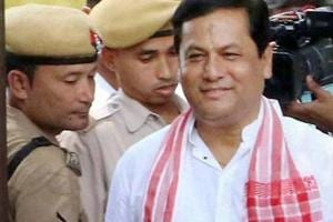 Assam Chief Minister Sarbananda Sonowal has ordered an inquiry after a video went viral showing police removing the jacket of a small boy who was attending his programme (File Photo)