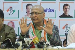 """The government selectively and discriminatorily expresses helplessness in taking action,"" said Congress leader Abhishek Manu Singhvi."