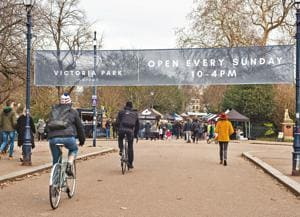 The Victoria Park Market is the most recent addition to the oldest public park in London