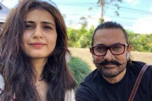 Fatima Sana Shaikh and Aamir Khan worked together in Dangal and Thugs of Hindostan.