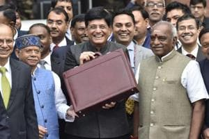 Budget 2019: Finance Minister Piyush Goyal will present the Narendra Modi government's election-year budget  today .