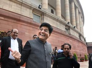 """The income tax department will give a """"straight rebate"""" of Rs 12,500 to people having an annual income of Rs 5 lakh from the beginning of next fiscal (Photo by Arvind Yadav/ Hindustan Times)"""