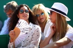Girlfriend of Nadal, Xisca Perello with Nadal
