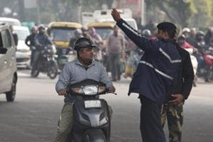Traffic in Delhi and Noida was thrown out of gear due to a shutdown of key roads connecting the national capital in view of a farmers' protest on Friday.