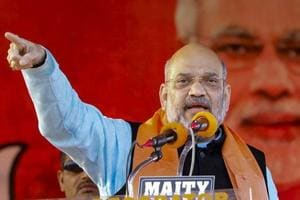 BJP national president Amit Shah.