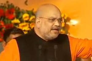 Speaking at a rally in Puri in Odisha, BJP chief Amit Shah criticised both the Congress and the BJD.