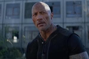 Dwayne 'The Rock' Johnson in a still from Hobbs & Shaw.