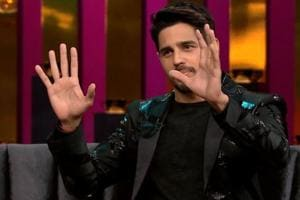 Sidharth Malhotra shared his small home with two friends in Juhu, which made bringing dates home a little difficult.