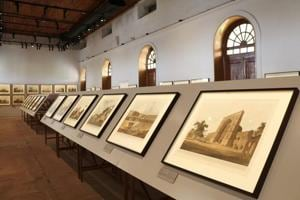 Photos: History shares space with art at the Red Fort barracks