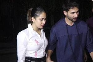 Mira Rajput gives a twist to white shirt-denims combo for date night with...