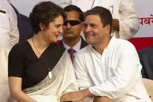 Rahul Gandhi had been ambivalent about Priyanka Gandhi's role outside Uttar Pradesh but party leaders had hinted that Priyanka, seen as a formidable campaigner, could be involved in other states as well.