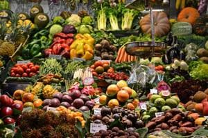 The research showed a positive association between the quantity of fruit and vegetables consumed and people's self-reported mental well-being.
