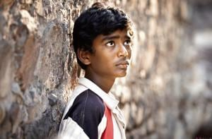 Jabya, a Dalit boy, falls in love with Shalu, an upper caste girl in Fandry (2013), a film by director  Nagraj Manjule.
