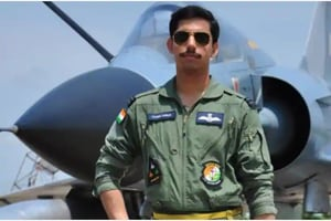 Squadron Leader Samir Abrol, one of the two test pilots who died in a Mirage-2000 crash in Bengaluru last weeK.