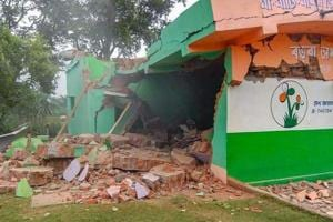 A Trinamool Congress leader in West Bengal's Birbhum district is on the run after a blast in his house blew the roof and demolished a wall on Wednesday night. (Representative Image)