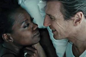 Viola Davis and Liam Neeson worked together in Widows.