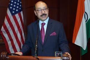 The new Indian ambassador, Harsh Vardhan Shringla.
