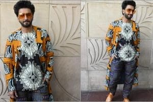Ranveer Singh spotted in prints on patterns at Gully Boy promotions