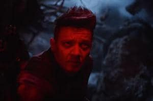 Hawkeye is back in Avengers: Endgame, but he doesn't look too happy.