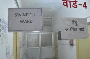 Overall 61 patients tested positive on Saturday, taking the total count of swine flu patients to 2,854. Maximum patients testing positive were from Jaipur (25). Ganganagar and Sikar accounted for six each and Udaipur four.