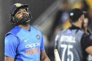 India vs New Zealand: An unwanted first for Rohit Sharma in Hamilton thriller