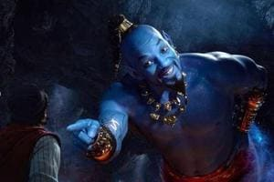 Will Smith as a blue genie is not sitting well with many Disney fans.