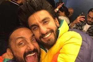Rahul Bose with Ranveer Singh