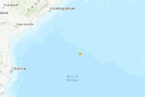 According to a bulletin from the Indian Meteorological Department, the quake with a magnitude of 5.1 on the Richter scale was a moderate one. It struck below the sea level, 600km northeast in the Bay of Bengal and the earthquake was felt in Chennai