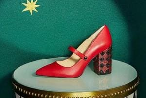 A shoe from Katy Perry's collection