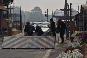 Parliament security personnel are investigating the cause of the incident, news agency ANI reported.