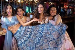 Neeti Mohan with her sisters Mukti, Shakti and Kriti Mohan.