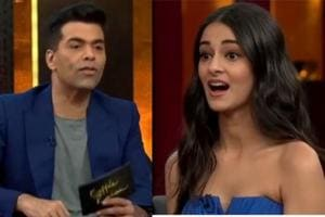 Ananya Pandey will be seen in the next episode of Koffee With Karan with co-stars Tiger Shroff and Tara Sutaria.