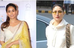Mira Rajput and Kareena Kapoor spotted in Mumbai.