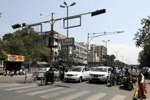 The move to install smart traffic signal in parts of Gurugram is expected to reduce waiting time at signals as the light will remain green for a longer time at the carriageway with the heavier volume of traffic.