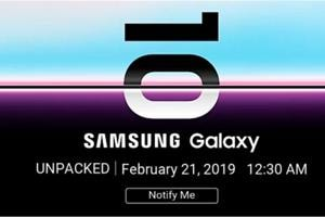 Samsung Galaxy S10 teased on Flipkart in India.