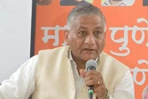 MoS External Affairs General VK Singh has raised questions over HAL's capability to make good fighter planes.