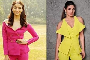 Alia Bhatt and Priyanka Chopra's colourful looks are anything but boring. (Instagram)