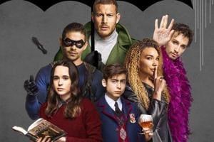 The Umbrella Academy review: Netflix assembles a superhero team like no other.