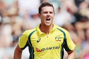 File image of Australia cricketer Josh Hazlewood.