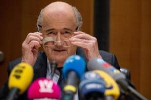 File picture of Sepp Blatter