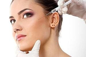 Botox is extensively used for reduction of frown lines, forehead horizontal lines, crow's feet, under eye wrinkles and for neck lift as well as smoothening the heavy jawline. (Instagram)