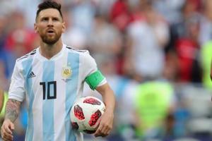 File image of Argentina's Lionel Messi.