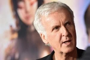 Filmmaker James Cameron attends the premiere of Alita Battle Angel on February 5, 2019 at the Westwood Village Regency Theatre in Westwood.