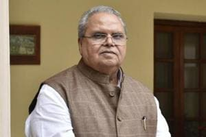 Satya Pal Malik, governor of Jammu and Kashmir during an interview at J&K House, Prithviraj Road, in New Delhi, India, on Saturday, October 27, 2018.