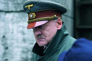 Bruno Ganz as Adolf Hitler in a still from the Oscar-nominated film Downfall.