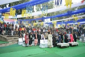 The Inauguration Ceremony marked a great inception of the Annual Commerce Fest of Dyal Singh College- Communique 2019
