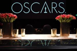 Decor for the 91th annual Academy Awards Governors Ball is displayed at the press preview at The Ray Dolby Ballroom at Hollywood & Highland Center on February 15, 2019 in Hollywood, California.